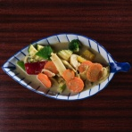 Grüner Curry (sehr scharf)